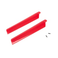 Blade Main Rotor Blades Red (2) MSRX BLH3216RE