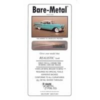 Bare Metal Foil Ultra Bright Chrome 6 X 11.5 (1 Sheet) BMF004