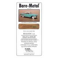 Bare Metal Foil Gold Foil 6 X 11.5 (1 Sheet) BMF008