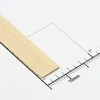 "Bud Nosen Timber 3106 24"" Basswood Strips 3/64"" x 5/16"""