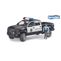 Bruder 1/16 RAM 2500 Police truck with policeman