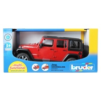 Bruder 1/16 Jeep Wrangler Unlimited Rubicon BR02525