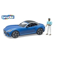 Bruder 1/16 Roadster with driver