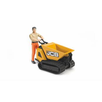 Bruder JCB Dumpster HTD-5 & Construction Worker BR62004