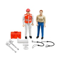 Bruder Bworld 1/16 Figure-Set Ambulance