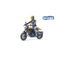 Bruder bworld Scrambler Ducati Full Throttle with Driver