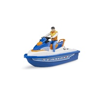 Bruder Bworld Personal Water Craft With Diver 063150