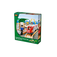 Brio Rail & Road Travel Set 33pce B33209