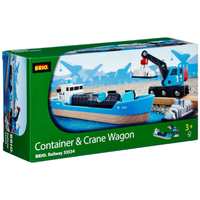 Brio Freight Ship and Crane