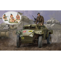 Bronco CB35009SP 1/35 WWII British Humber MK.I Scout Car & AFV Crew Set Plastic Model Kit