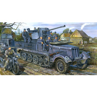 Bronco CB35043 1/35 Sd.kfz 6/2 (BN9) 3.7cm Flak36 half-track 5t(Early/Late Production) Plastic Kit