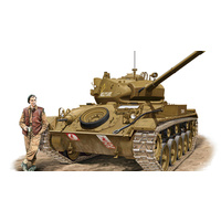 Bronco CB35068 1/35 Light Tank M-24 'Chaffee'(British Army) Plastic Model Kit