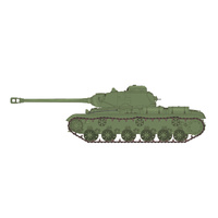 Bronco CB35122 1/35 WWII Russian Heavy Tank KV-122 Plastic Model Kit