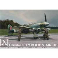 Brengun 1/72 Hawker Typhoon Mk.Ib mid production with three blade propeller Plastic Model Kit