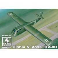 Brengun 1/72 Blohm-und-Voss Bv-40 Glider (gliders) with photoetch parts Plastic Model Kit