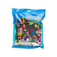Strictly Briks 12 Colours with 6x6 Base Plate 216pcs