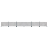 Busch N Metal Industrial Fence BU-8117