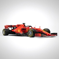 Bburago 1/43 Ferrari Racing F- 1 SF 90 2019 with Driver - Vettel Diecast Car