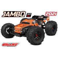 Team Corally 1/8 JAMBO XP 6S Monster Truck - 2021 Version LWB RTR Brushless Power (No Battery No Charger)
