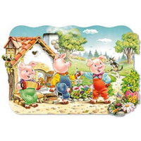 Castorland 20Pce Maxi Three Little Pigs C02061