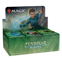Magic The Gathering: Zendikar Rising Draft Booster Box (36 Boosters)