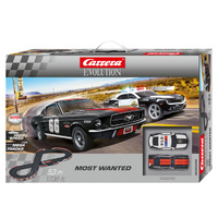 Carrera Evo Most Wanted Set - 67 Mustang & Camaro Sheriff