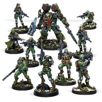 Corvus Belli Tartary Army Corps Action Pack