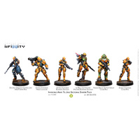 Corvus Belli Infinity - Invincible Army Yu Jing Sectorial Starter Pack