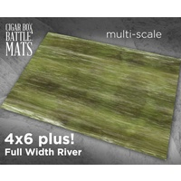 Cigar Box Full River 4x6 Battle Mat