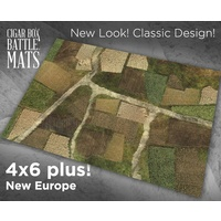 Cigar Box New Europe 4x6 Battle Mat