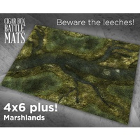 Cigar Box Marshlands 4x6 Battle Mat