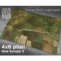 Cigar Box New Europe 2 15mm 4x6 Battle Mat