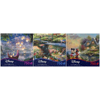 Kinkade 750pc Disney Dreams (Assorted Styles)