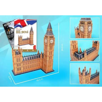 Cubic Fun 116pc Big Ben 3D Puzzle with Book CFMC087H