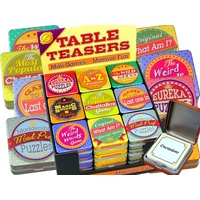 Table Teasers Mini Games CHE06505