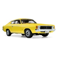 Classic Carlectables 1/18 1973 VJ Series Charger XL - Sunfire Yellow Diecast Car