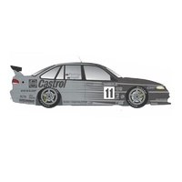 Classic Carlectables 1/18 Holden VR Commodore - 1995 Bathurst Winnder 25th Anniversary Silver Livery