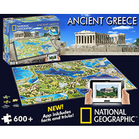 Clementoni 4D Ancient Greece National Geographic CLE 036
