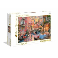 Clementoni 6000pce Venice Evening Sunset Puzzle 36524