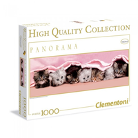 Clementoni 1000pc Kittens Under Blanket CLE 39127