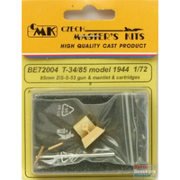 CMK 1/72 T-34/85 1944 BARREL ZIS S-53 CMK-BE72004