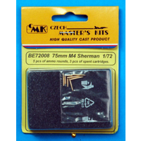 CMK 1/72 AMMO 75mm FOR M4 SHERMAN CMK-BE72008