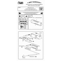 CMK 1/35 FLAMETHROWER WITH SPACED ARMOUR CMK-HB071