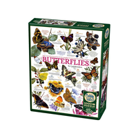 Cobble Hill 1000pc Butterfly Collection Puzzle 80015