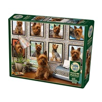 Cobble Hill 1000pc Yorkies Are My Type Jigsaw Puzzle