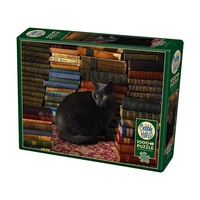 Cobble Hill 1000pc Library Cat Jigsaw Puzzle