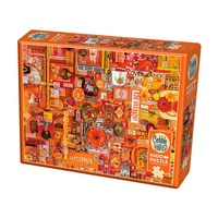 Cobble Hill 1000pc Rainbow Project Orange Jigsaw Puzzle