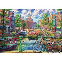 Cobble Hill 1000pc Amsterdam Canal