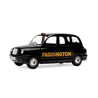 Corgi Paddington Bear Taxi and Paddington Bear Figure