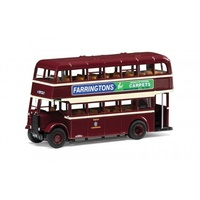 Corgi Guy Arab II Burton Corporation, Burgundy and Cream, Anglesy Road